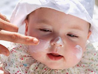 Vaikų odos priežiūra